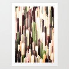 obelisk posture 2 (variant 3) Art Print