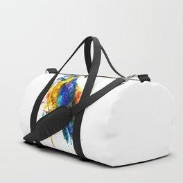Parrot Watercolor Duffle Bag