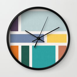 Abstract Art XVIII Wall Clock