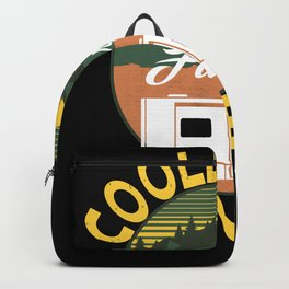 Cool Grandpas Drive Camper Camping Backpack