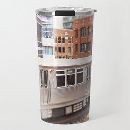 Chicago Train Photography - 3426 Travel Mug