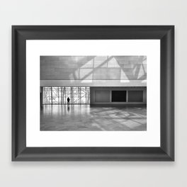 Time To Think Framed Art Print
