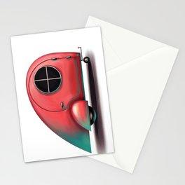 Flamingo caravan Stationery Cards
