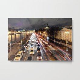 Moscow nights Metal Print