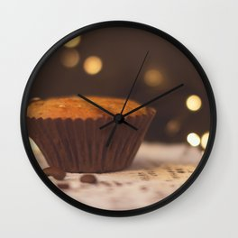 Tea Time. Wall Clock