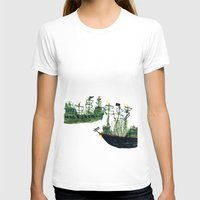 ships T-shirts featuring Ships by kiwiroom