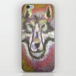 Wolf Wisdom iPhone Skin