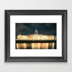 The Custom House Dublin Framed Art Print