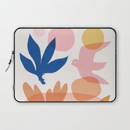 Abstraction_Floral_Nature_Wonderful_Day_002 Laptop Sleeve