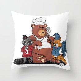 Pet Revengers Throw Pillow