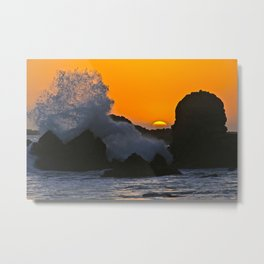 Sunset Corona Del Mar Metal Print