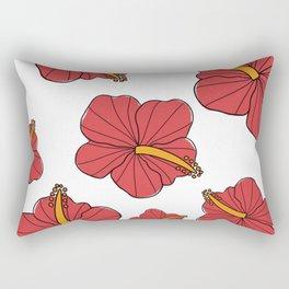 Once and flor-al Rectangular Pillow