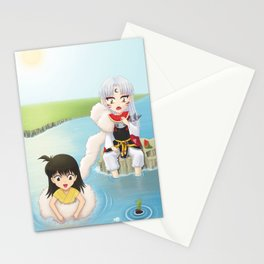 Inuyasha:  Summer Stationery Cards