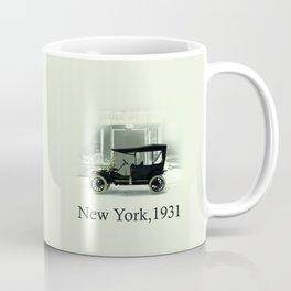 A Ford T in New York Coffee Mug