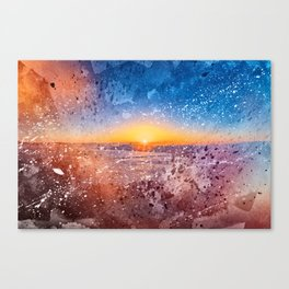 Acrylic San Francisco Sunrise Canvas Print