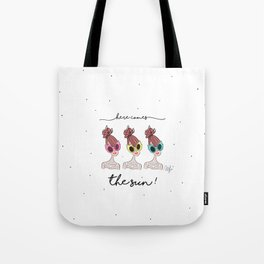 Here comes the sun. Tote Bag