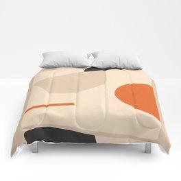 abstract minimal 41 Comforters