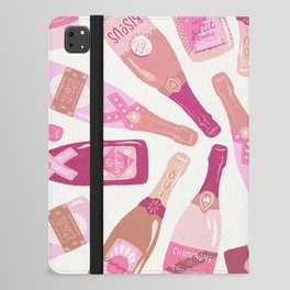 French Champagne Collection – Pink iPad Folio Case