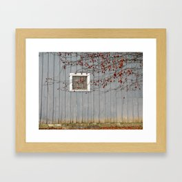 Blue Fall Framed Art Print