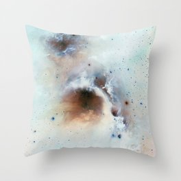Space Dust Throw Pillow