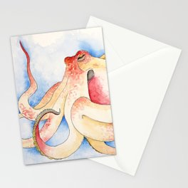 The Nervous Octopus Stationery Cards