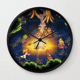 Timeless Campfire Wall Clock
