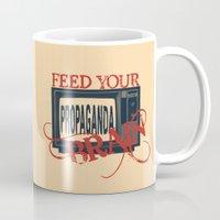 propaganda Mugs featuring Propaganda 1 by Patterns of Life