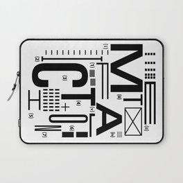 METAL FICTION Laptop Sleeve