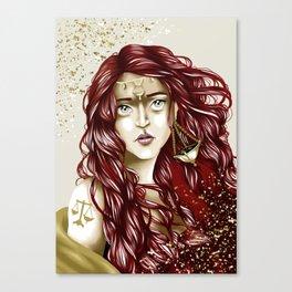 Libra Canvas Print