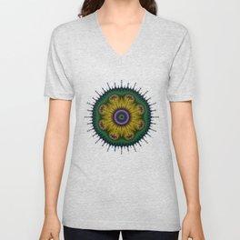 Fractal Mandala Unisex V-Neck