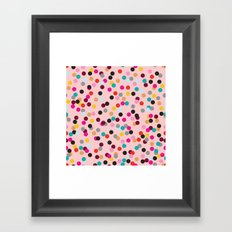 Confetti #3 Framed Art Print