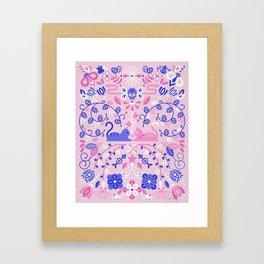 Kitten Lovers Framed Art Print