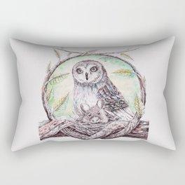 Owl Caregiver Rectangular Pillow