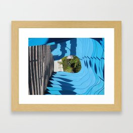 At the End of the Tunnel Framed Art Print