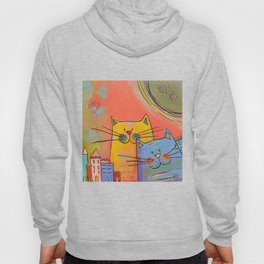 City cats Hoody