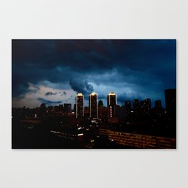 City Mood Canvas Print