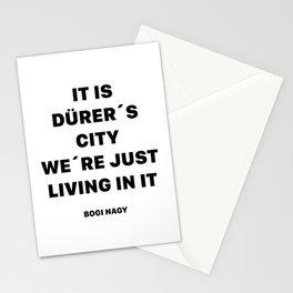 DÜRER´S CITY Stationery Cards