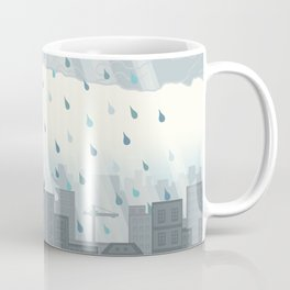 Rain in the city Coffee Mug