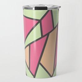 Geometric Colour Pattern V5 Travel Mug