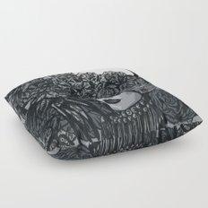 Light in the dark Floor Pillow