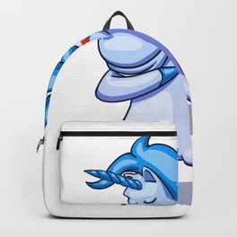 Dabbing Unicorn - Dab Hip Hop Funny Magic Backpack