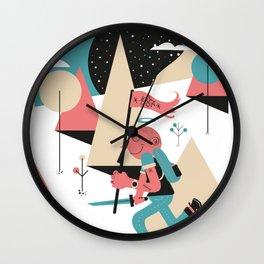 Run boy ! Wall Clock