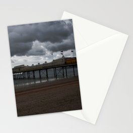 Dark Clouds Over Paignton Pier Stationery Cards
