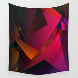 Smoke Screen Abstract 7 Wall Tapestry