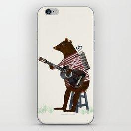 guitar song iPhone Skin