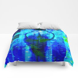 No Way No How < The NO Series (Blue) Comforters