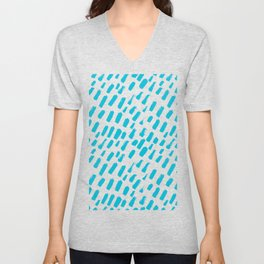 Dashing Darling - Aqua Unisex V-Neck