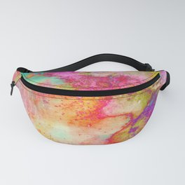 Abstract Multicolored Party Fiesta Fanny Pack