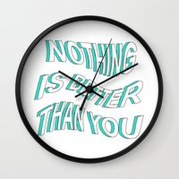 5 seconds of summer Wall Clocks featuring LOST BOY // 5 SECONDS OF SUMMER by grlpower