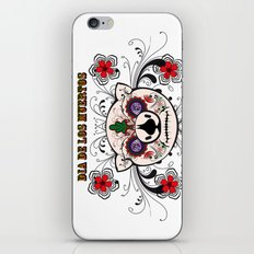 Berto: Dia de los muertos (Day of the dead) iPhone & iPod Skin
